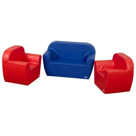Childrens Club Chairs Sofa Set
