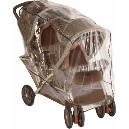 Rain and Weather Shield for Front to Back Baby's Tandem Stroller