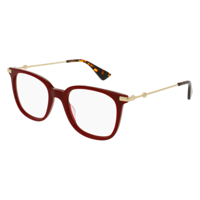 3ae0107d6c Product Image Eyeglasses Gucci GG 0110 O- 006 BURGUNDY   GOLD