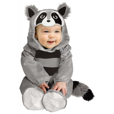 baby raccoon infant halloween costume 6 12 months - Walmart Halloween Costumes For Baby