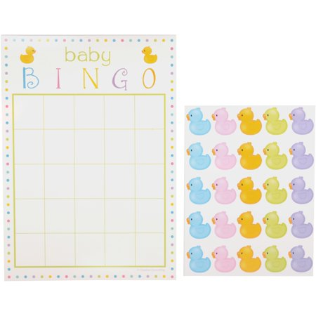 Way To Celebrate! Bingo Game with Stickers 10 pc Pack for $<!---->