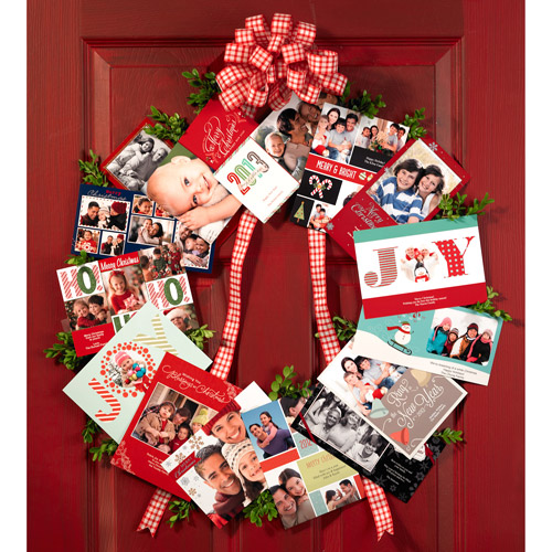 Projects Made Simple: Learn How to Make This Holiday Card Wreath Decoration