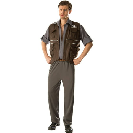 Jurassic World Deluxe Owen Adult Halloween Costume
