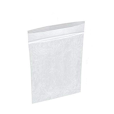 1000 Pack of Clear Zip Lock Bags 2 x 3. Reclosable Poly Packing Bags 4 Mil. Resealable Polyethylene Storage Bags. Zipper Lock Heavy Duty Plastic Bag for Jewelry, Clothing. FDA, USDA Approved.