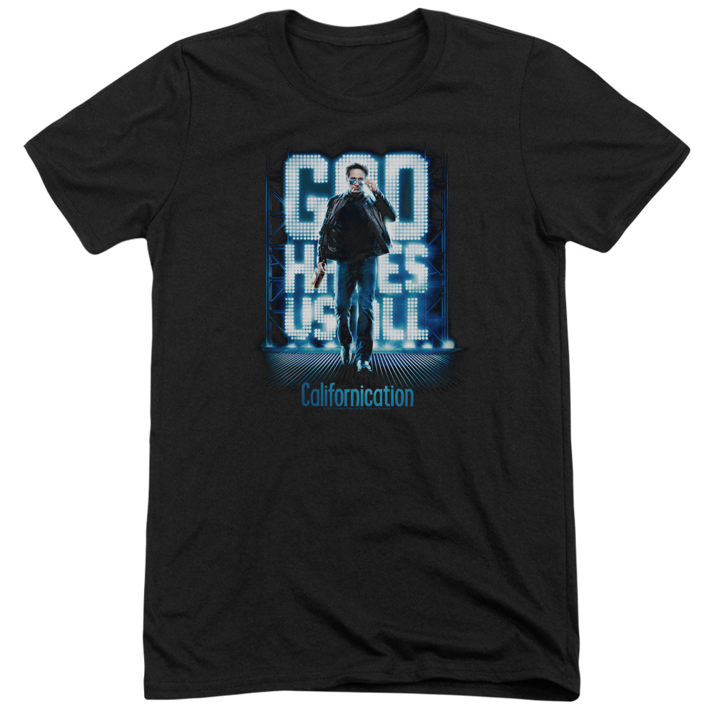Californication Hit The Lights Mens Tri-Blend Short Sleeve Shirt