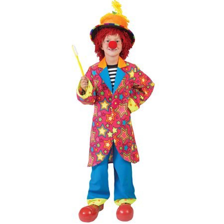 Sparkling Star Clown Boy Child Halloween Costume - Halloween Disneyland Hk