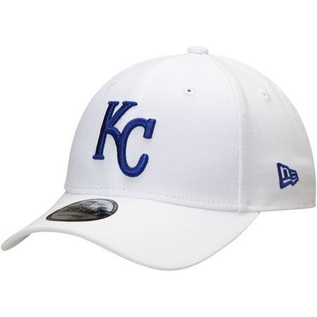 Kansas City Royals New Era League 9FORTY Adjustable Hat - White - OSFA - Kansas City Royals Hats