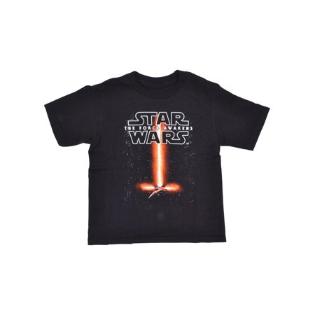 Toddler Boys Star Wars Kylo Ren Lightsaber T-Shirt Black](Star Wars Gifts For Boys)