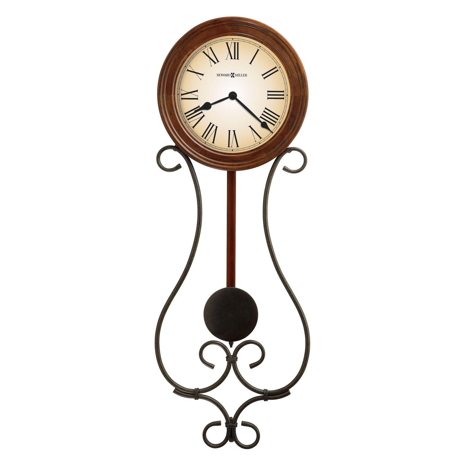 Howard Miller 625-497 Kersen Wall Clock 8-in. Wide by Howard Miller