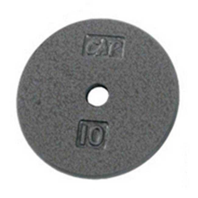 Apollo Athletics KB-40 Gray 1 in. Regular 10 lbs. Plate