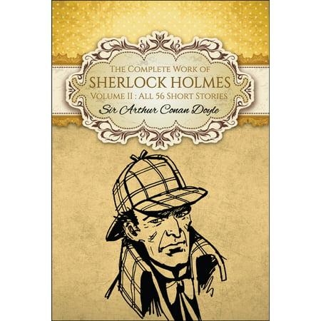 It Works Global Halloween (The Complete Work of Sherlock Holmes II (Global Classics) -)