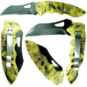 Whetstone Woodsman Camouflage Pocket Knife, Various Colors