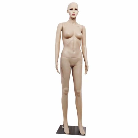 XSL5 Female Straight Hand Straight Foot Body Model Mannequin Skin (Best Only Mannequins® Hands)