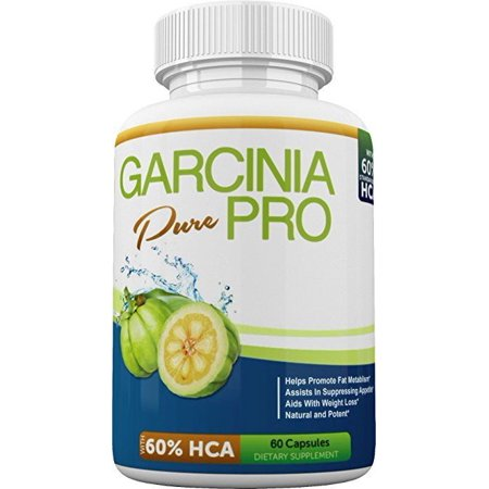 Garcinia Pure Pro 60 Hca Ultimate Weight Loss Supplement For Men And Women Carb Blocker Appetite Suppressant 60 Capsules