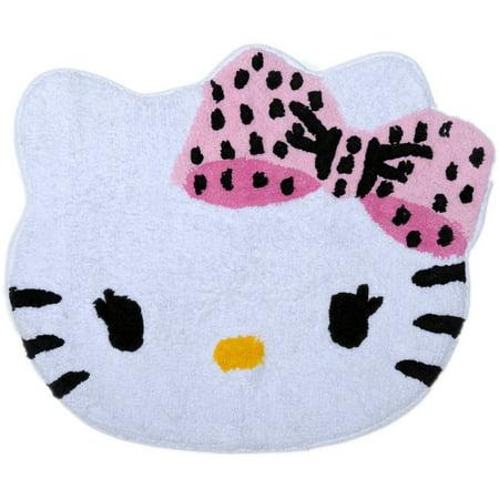 Hello Kitty Dots J Adore Tufted Bath Rug