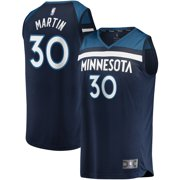 Kelan Martin Minnesota Timberwolves Fanatics Branded Youth Fast Break Player Jersey - Icon Edition - Navy