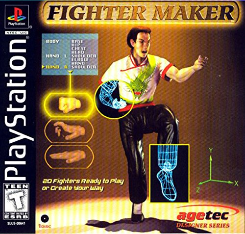 PS Fighter Maker (Playstation)