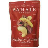 Sahale Snacks Nut Blends Cashew Mix, Raspberry Crumble, 8 Ounce