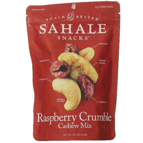 Sahale Snacks Nut Blends Cashew Mix, Raspberry Crumble, 8 Ounce
