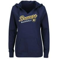detailing b6e7a 06fcc Milwaukee Brewers Sweatshirts - Walmart.com