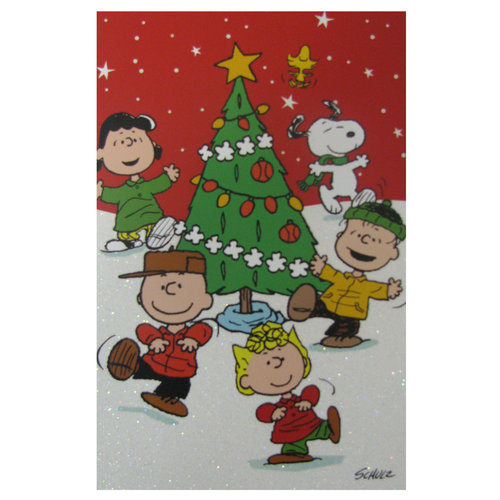 DaySpring 40ct Peanuts Characters Christmas Cards - Walmart.com