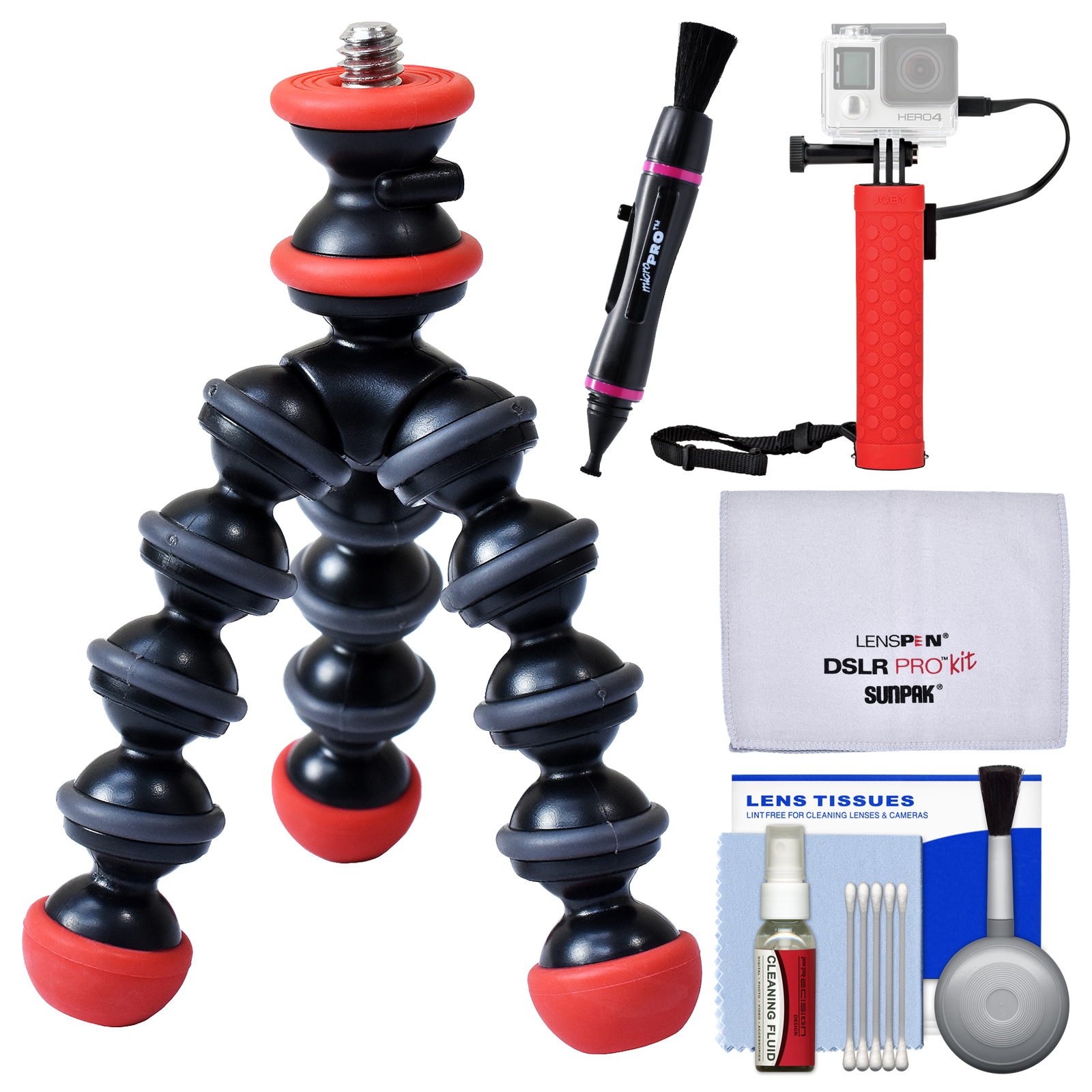 Joby GorillaPod Magnetic Mini Flexible Tripod with Hand Grip + Lens Pen + Kit