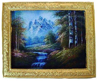 Click here to buy Dollhouse Mountain Stream Gold Frm..
