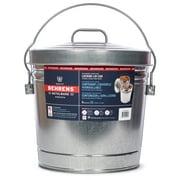 Behrens 6-Gallon Galvanized Steel Locking Lid Storage Can