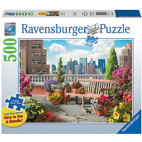 Ravensburger Rooftop Garden Large Format Puzzle, 500 Pieces by Generic