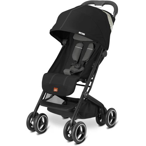 gb Qbit + Lightweight Stroller, Monument Black by GB