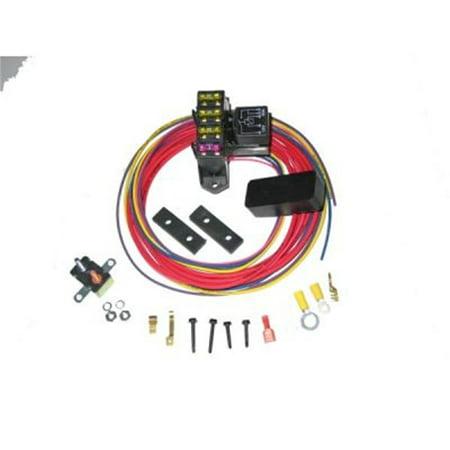 Painless Performance 70213 PAN70213 CIRKIT BOSS AUX FUSE BLOC