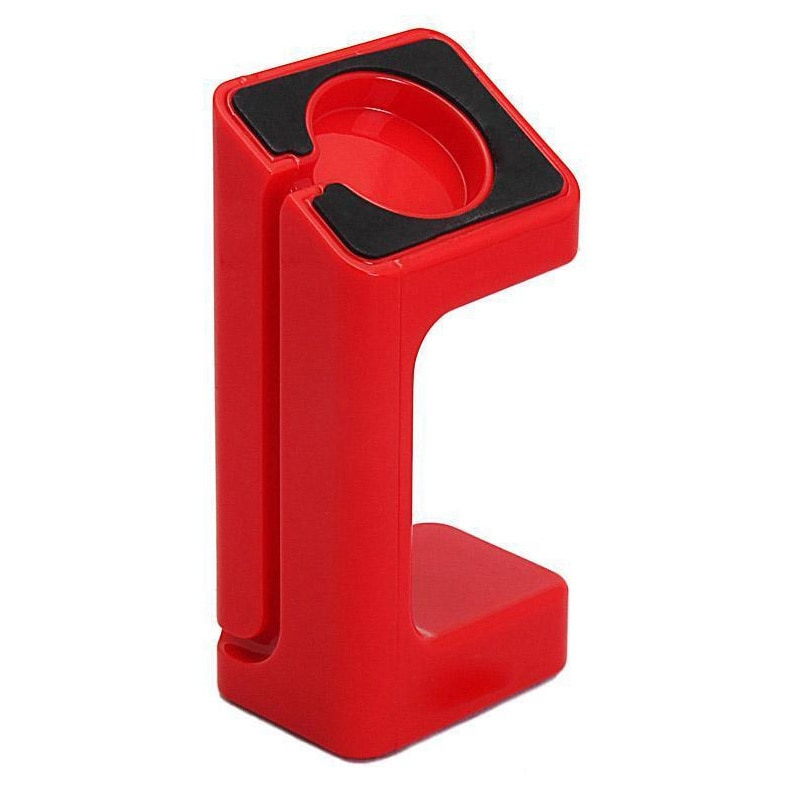 Docking Station for Smart Watch, U Watch and Apple iWatch - Red