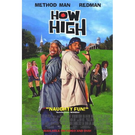 """How High - movie POSTER (Style B) (11"""" x 17"""") (2001)"""