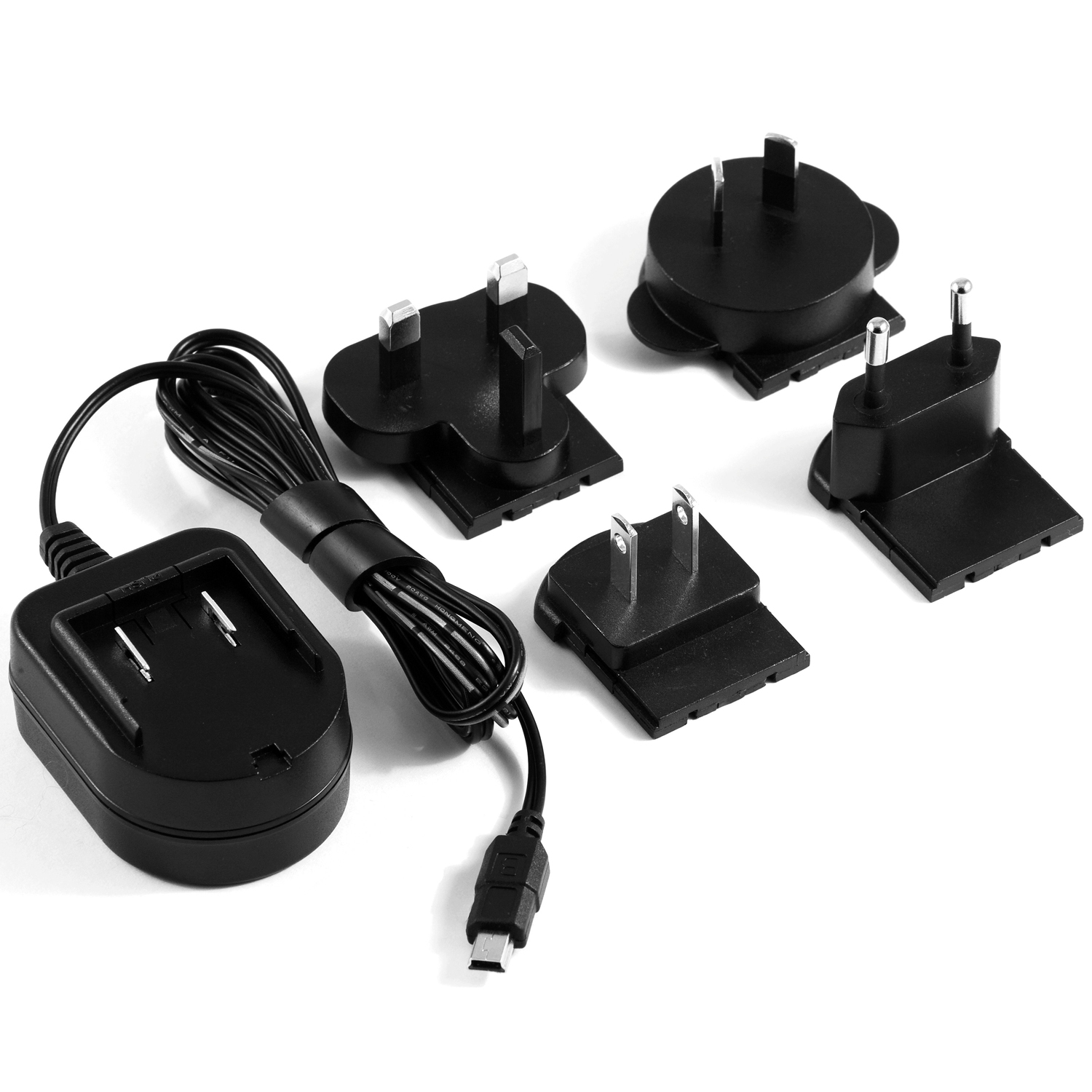 Contour Universal Wall Charger with Interchangeable Prongs for International Use