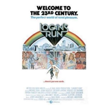 Logans Run Movie Poster 24In X36in