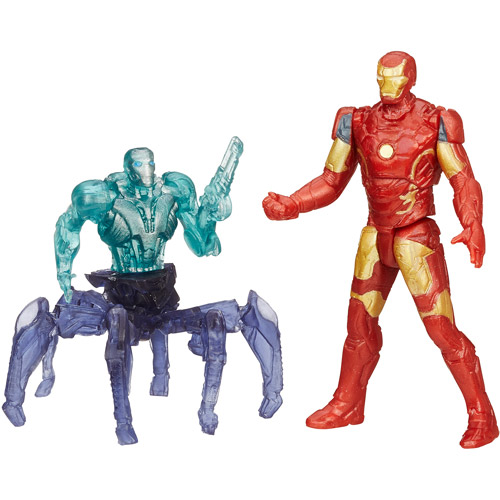 Marvel Avengers Age of Ultron Iron Man Mark 43 Vs. Sub-Ultron 001 Figure Pack
