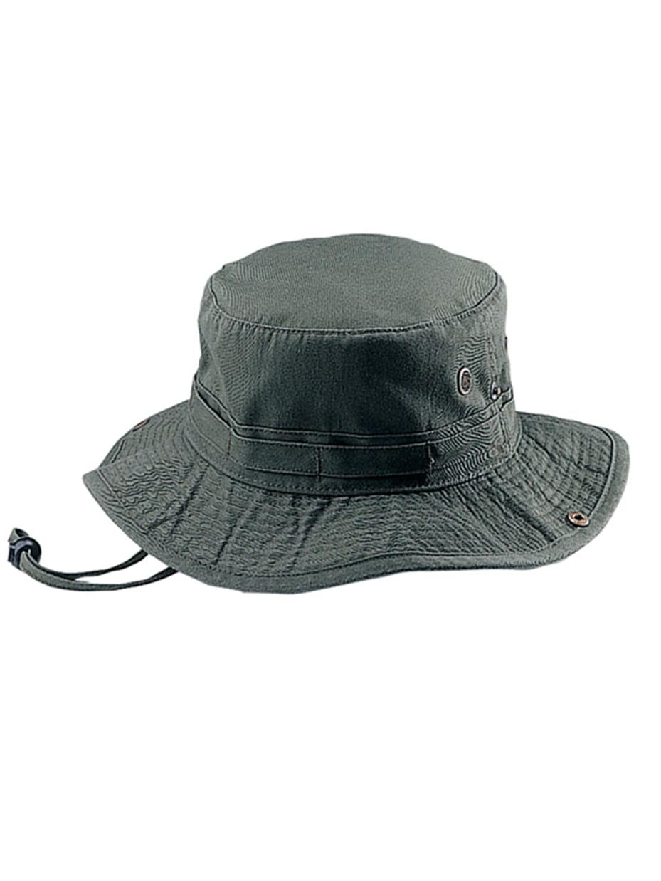 Fishing Hiking Outdoor Hat -Olive Medium 6241f267936