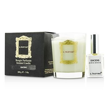 Sprays Scented Candles (Scented Candle - Encens (with Room Frangrance Spray 15ml/0.5oz))