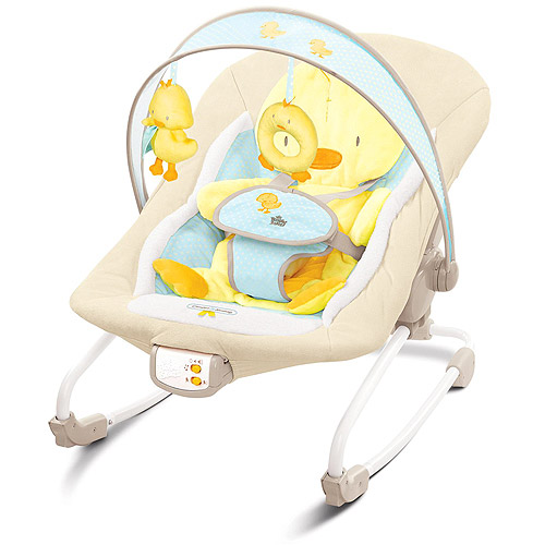 Bright Starts - Comfort & Harmony Grow with Me Rocker, Snuggle Duckling