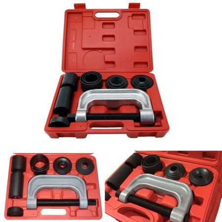 Ball Joint Press Kit 7 PCS Ball Joint Auto Remover Installer Tool Service  Kit 2WD + 4WD Vehicles Remover Install Tools Kit