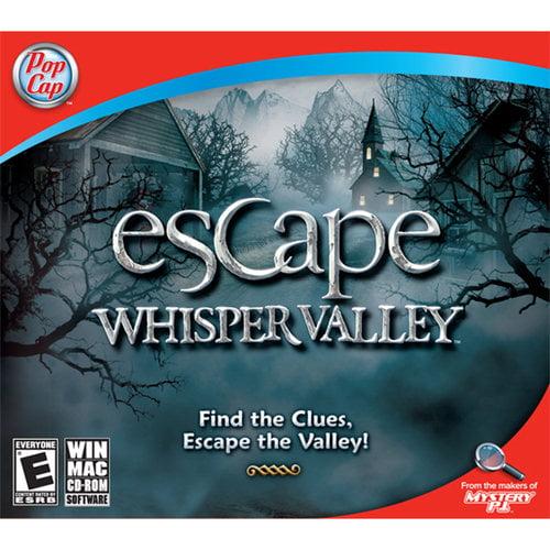 PopCap Escape Whisper Valley Game, Jewel Case