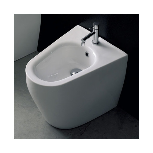 Scarabeo by Nameeks Tizi 15.7'' Elongated Floor Mount Bidet