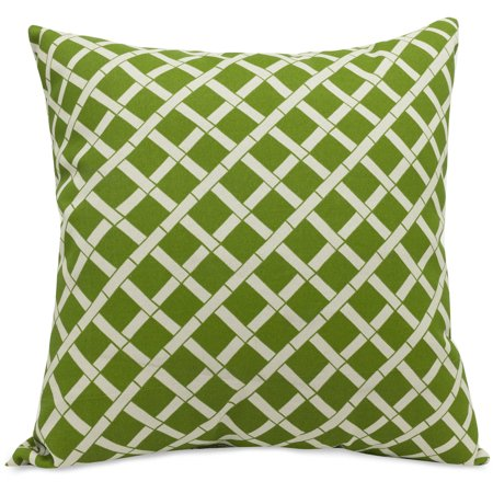 Large Decorative Outdoor Pillows : Majestic Home Goods Bamboo Extra Large Decorative Pillow, 24