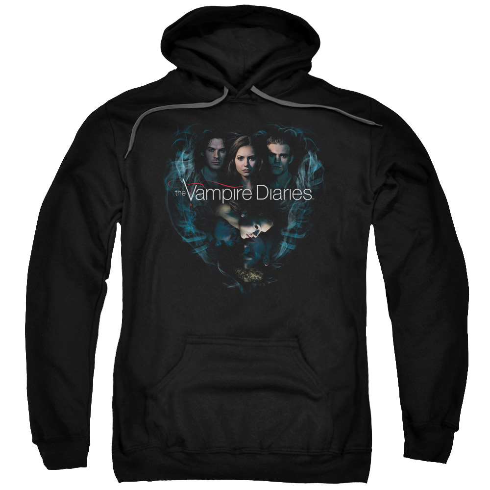 The Vampire Diaries Hearts Desire Mens Pullover Hoodie
