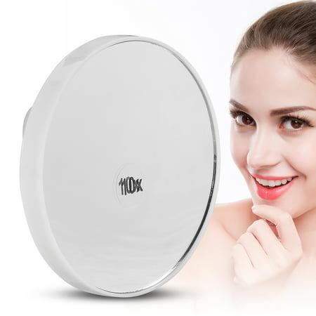 Moksha Cosmetic 10x Magnification Magnifying Magnified Vanity Mirror Portable Makeup Beauty Tool,Cosmetic Mirror,Vanity Mirror Magnifying Makeup Mirror