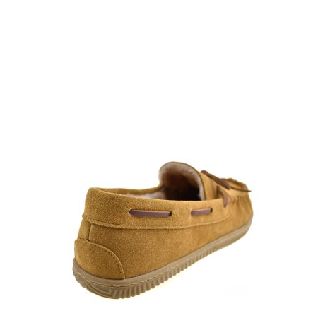 George Men's Trapper Moccasin Slipper