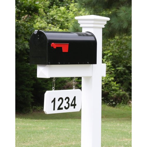 4Ever Products Mailbox with Post Included by Mailboxes