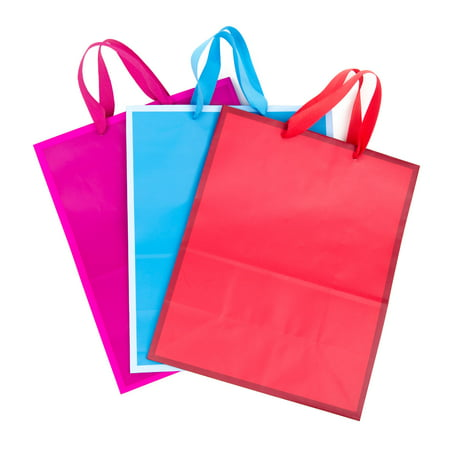 Large Baby Gift Bag (Hallmark Large Gift Bags for Birthdays, Baby Showers, Holidays, and More (3 Pack, Solid)