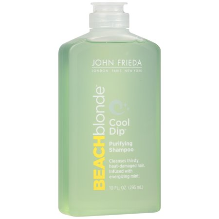 John Frieda Beach Blonde Cool Dip Purifying Shampoo  10 Oz