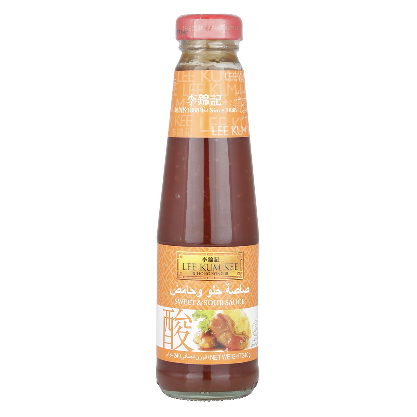 Lee Kum Kee Sauce Sweet And Sour 8 5 Oz Walmart Com Walmart Com